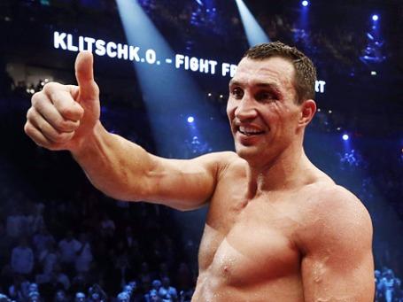 Боксер Владимир Кличко. Фото: Reuters
