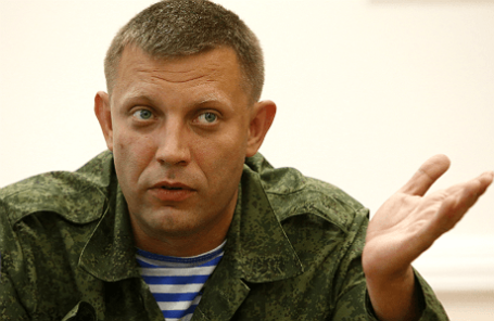 Премьер-министр самопровозглашенной ДНР Александр Захарченко.