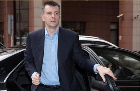 Прохоров начал переговоры опродаже «Квадры» иРБК