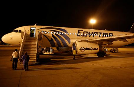 За пару минут докрушения Airbus наборту было задымление
