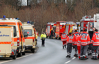 Столкновение скоростных поездов в Германии: версия теракта не рассматривается