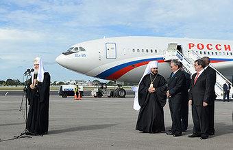 «Необходимость сближения перед лицом угрозы всему человечеству». Патриарх прибыл в Гавану для встречи с Папой