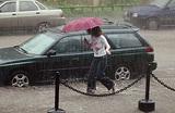 На выходных Москву затопят ливни