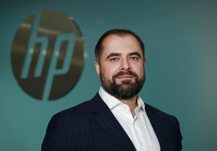 Вице-президент, генеральный директор HP Inc по Восточной Европе Алексей Воронков. Персонально