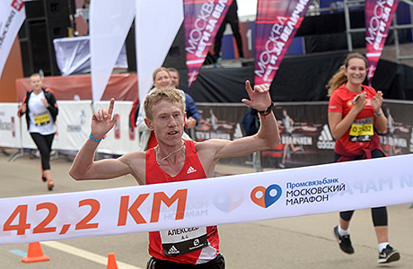 Рекорд Московского марафона побит