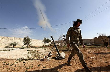Дамаск попытались отрезать от основной транспортной артерии