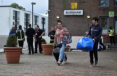 Срочная эвакуация в Лондоне