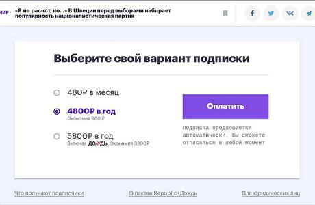 Финансовый кризис в Republic. Как выживают в России издания с платным контентом?