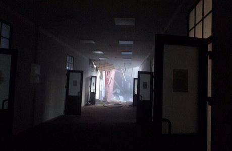 При обрушении в здании университета в Петербурге никто не погиб