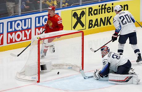 Россия — в полуфинале чемпионата мира по хоккею