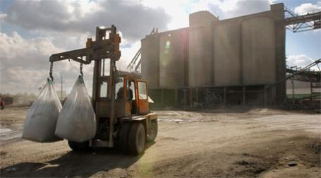 Цементный завод. Фото: ИТАР-ТАСС