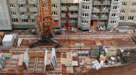 Строительство жилого дома. Фото: А.Беленький/BFM.RU