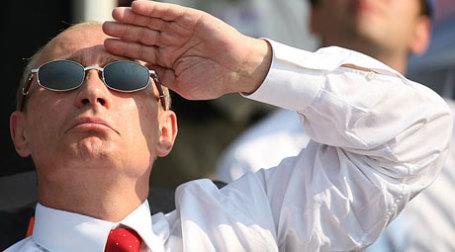 Российский премьер-министр уверенно смотрит в будущее. Фото: Митя Алешковский/BFM.RU