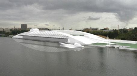 Проект западного порта. Фото: пресс-служба ЗАО
