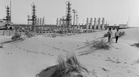 Газовое месторождение в Туркмении. Фото: ИТАР-ТАСС