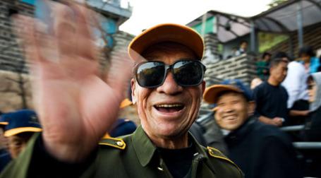 Посетители Великой китайской стены. Фото: Szymon Kochański/flickr.com