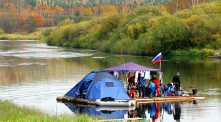Туристы в российской глубинке. Фото: ИТАР-ТАСС