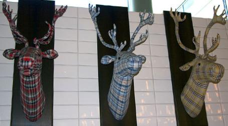 Декоративные оленьи головы. Фото: duesentrieb/flickr.com