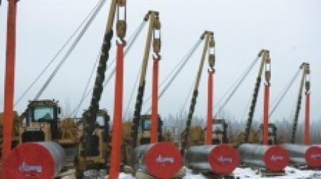 Начало строительства газопровода. Фото: РИА НОВОСТИ