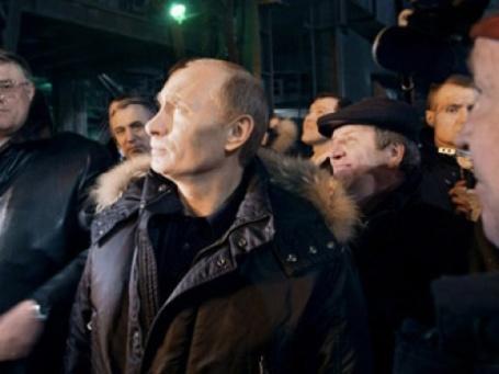 Поездка Владимира Путина в Новокузнецк. Фото: РИА НОВОСТИ