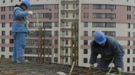 Строительство жилого дома. Фото: ИТАР-ТАСС