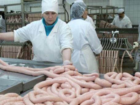 Мясоперерабатывающий комбинат. Фото: РИА НОВОСТИ