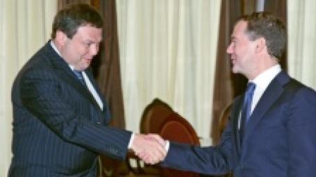 Михаил Фридман на встрече с президентом РФ. Фото: ИТАР-ТАСС
