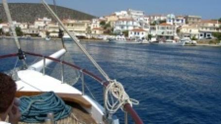 В 2009 многие россияне предпочтут отдых в Греции крымским пляжам. Фото: Deanna Keahey/flickr.com