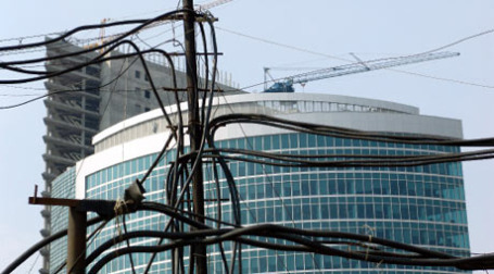 Продажи апартаментов в «Москва-Сити» застопорились. Фото: РИА НОВОСТИ