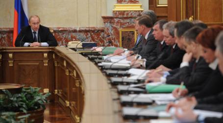 Заседание президиума Правительства РФ. Фото: ИТАР-ТАСС