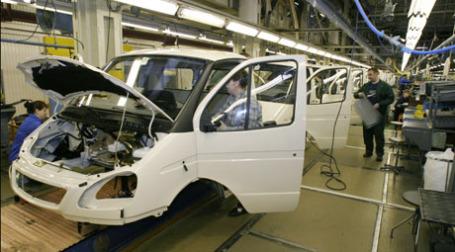 Сборка автомобилей «ГАЗель». Фото: ИТАР-ТАСС
