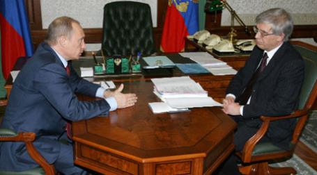 Владимир Пуитн и Сергей Игнатьев. Фото: РИА Новости