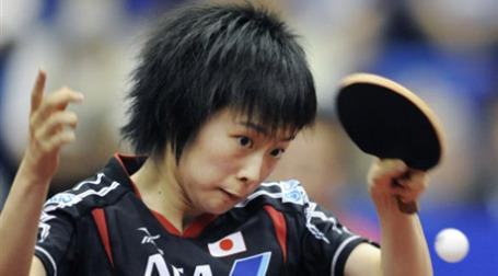 Азиатский игрок в настольный теннис. Фото: AFP
