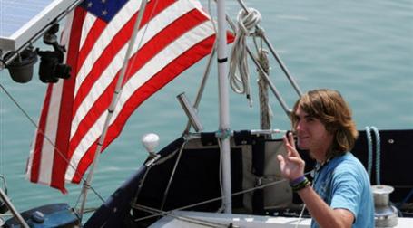 Американский яхтсмен. Фото: AFP