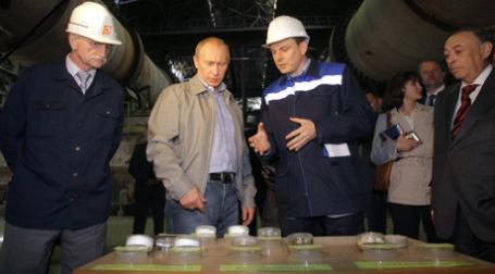 Премьер-министр РФ Владимир Путин посетил ЗАО