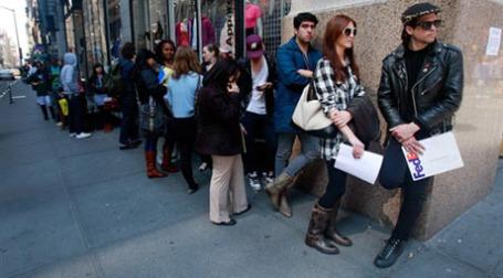 В США в мае уровень безработицы повысился до 9,4%. Фото: AFP