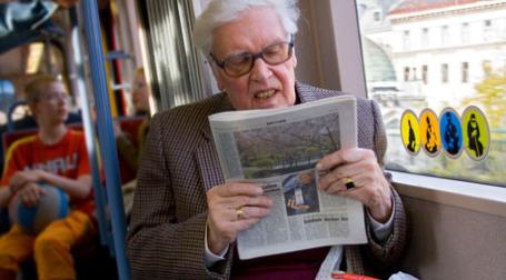 В Европе печатные СМИ не сдают позиций. Фото: Christian Kadluba/flickr.com
