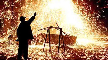Плавка стали. Фото: Северсталь