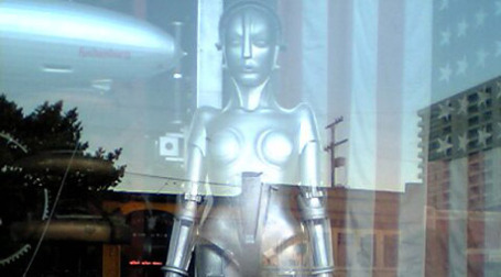 Робот из фильма Фрица Ланга
