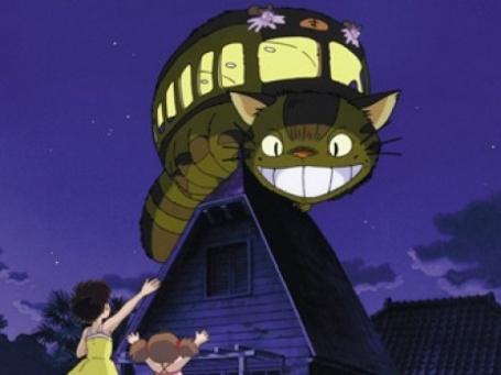 Кадр из мультфильма Хаяо Миядзаки «Мой сосед Тоторо»