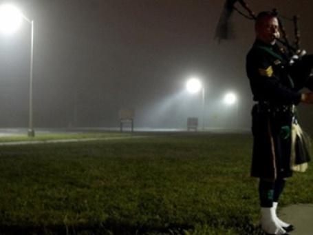 Волынщик. Фото: AFP