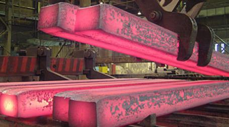 Раскаленный металл. Фото: Евразхолдинг