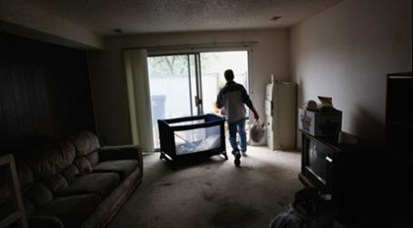 Доля незанятых арендных квартир в США достигла максимума. Фото: AFP