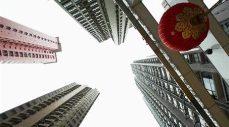 Цены на недвижимость в 70 крупных и средних городах Китая выросли. Фото: AFP