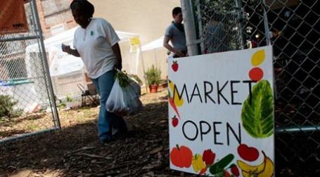 Программа продуктовых пособий помогает экономике США. Фото: AFP