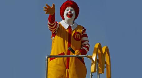 McDonald's прощается с лондонцами. Фото: creepingweeds.com