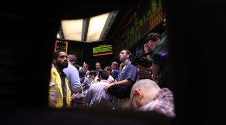 Торги на бирже в Нью-Йорке. Фото: AFP