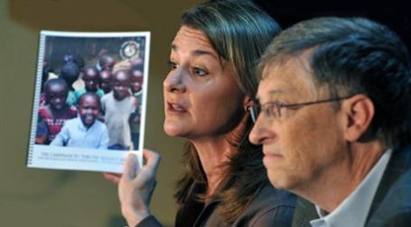 Фонд Билла и Мелинды Гейтс отчитался о своей деятельности. Фото: AFP
