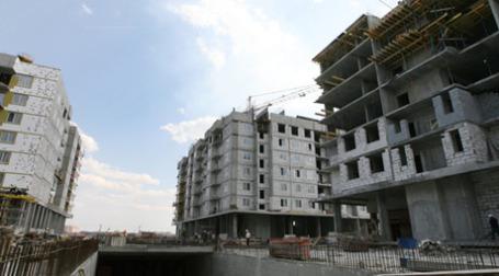 Строительство дома. Фото: РИА Новости