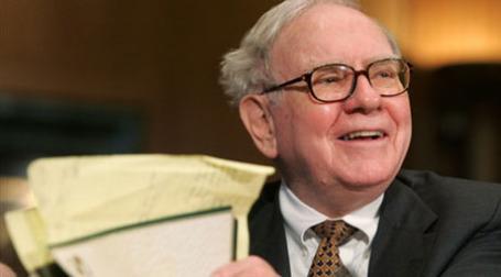 Председатель совета директоров компании Berkshire Hathaway Уоррен Баффет. Фото: AFP